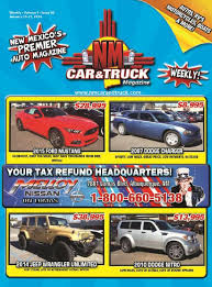 NM Car And Truck Magazine Vol. 9 Issue 03 By NM Car And Truck ... Nm Car And Truck Magazine Issue 44 By Greyhound Bus Semitruck Crash Headon In New Mexico At Least 7 Enterprise Sales Used Cars Trucks Suvs For Sale Certified Larry H Miller Chrysler Jeep Dodge Ram Alburque In 41 Melloy Auto Group Vehicles For Los Lunas Hicountry Chevrolet A Shiprock Farmington Durango Co Dealership Las Cruces Bravo Vol 9 14 St Clair Winery Mesilla Wine Pinterest Patrol Division Portales
