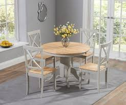 Mark Harris Elstree Extension Oak And Grey Small Dining Table Set FDUK BEST  PRICE GUARANTEE WE WILL BEAT OUR COMPETITORS PRICE! Give Our Sales Team A  ... Solid Oak Table And Chairs Valencia Small Oak 160cm Glass Ding Table With Lola Fabric Chairs Canterbury Extending 4 Adina In Black Set For 2 Best Fniture For All Home Types Of Ideas Barley Twist X4 7 Round Room Tables Perfect Spaces Oakvale With Details About 5 Piece Square Antique White Dark Go To Chinesefnitureshopcom