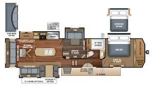 Jayco 2014 Fifth Wheel Floor Plans by 2018 Jayco 37mdqs Model