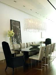 Chandeliers For Dining Room Contemporary Long Crystal Chandelier