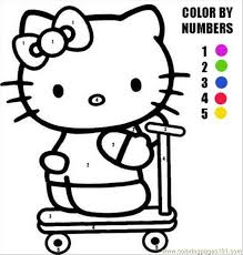 Free Printable Coloring Pages Hello Kitty Regarding Ucwords