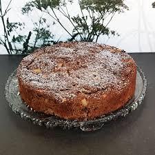 schoko apfelkuchen mit sauerrahm low carb mit genuss