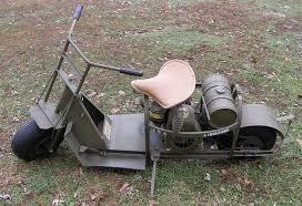 United States 1944 Cushman Model 53 Airborne Motor Scooter