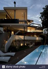 100 Mck Architects River House MCK Sydney Pool And House And Dusk