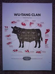 WU TANG CLAN Rebirth Tour 2010 Burlington Vermont Rap Concert Mini Poster