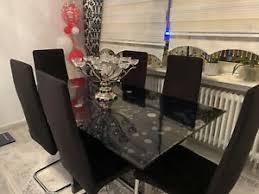 glastisch schwarz küche esszimmer ebay kleinanzeigen