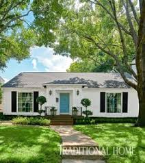 Gorgeous ranch style house makeover into a French cottage Open