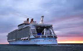 Cruise Ship Sinking 2016 by World U0027s Biggest Cruise Ship Makes Its Maiden Voyage Travel Leisure