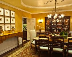 Using A Variety Of Buffet Table Traditional Dining Room Coloured Side And Hallway
