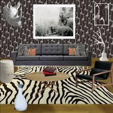 Safari Decorated Living Rooms by Urban Safari Modern Living Room Relish Interiors