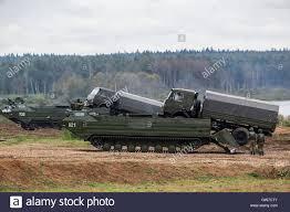 100 International Military Trucks Moscow Region Russia 11th Sep 2016 PTS2 Amphibious Transports