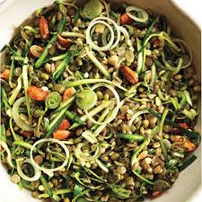 Sprouting Pumpkin Seeds by Brown Rice Salad With Crunchy Sprouts And Seeds Recipe