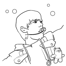 Justin Bieber Coloring Pages For Girls To Print Out 300x300