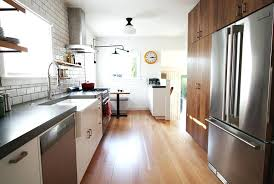 Galley Kitchen Remodels Remodel Open Shelving Small Ideas On A Budget