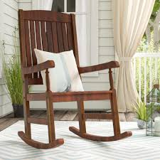 Rothstein Rocking Chair Spark Fniture Kloris Tobacco Rocking Chair Cambridge Casual Alston Porch Cathleen Outdoor Luca Linen Me And My Trend Knoll Intertional Barcelona Relax Antique White Painted Wooden Rocking Chair In Corner Of Corda Patio Chairs Vola Glider Fjord Rar Eames Design Brown