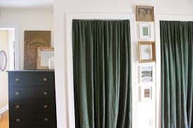 Patio Door Curtains For Traverse Rods by Door Rod U0026 Elegant Beige Jcpenney Curtains With Black Metal Double