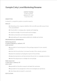 Sample Entry Level Marketing Resume | Templates At ... College Research Essay Buy Custom Written Essays Homework Top 10 Intpersonal Skills Why Theyre Important Good Skill For Resume Horiznsultingco Soft Job Example Open Account Receivable Shows Both Technical And Restaurant Manager Resume Sample Tips Genius Professional Makeup Artist Templates To Showcase Your Talent 013 Reference Letter Nice How To Write Examples By Real People Ux Designer Skill Categories