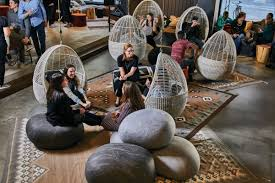 How A New Private Club Crafts Full-Service Social Lives | Seattle Met Forget Beanbag Chairs Amazon Is Giving Its Workers Treehouses Giant Bean Bag Chair The Bigone Lovesac Muji To Relax Mujirushi Ryohin Jaxx Saxx 4 Special Edition Denim Bags Kuow Holds An Annual Meeting Outside A Shit Show Los Angeles Chargers Nfl Midcentury Milo Mid Century Modern Groovy Seattle Rh Newborn Poser Backdrop Express Rocking Mandaue Foam