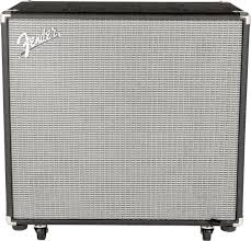 Fender Bassman Cabinet 1x15 by Fender Rumble V3 1x15 Bass Speaker Cabinet 600 Watts 1x15