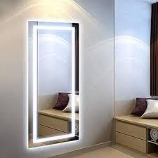 de skerito ganzkörper spiegel led für garderoben