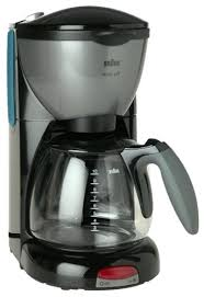 Braun KF550 BK AromaDeluxe 10 Cup Coffeemaker Black