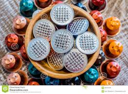 Download Used Coffee Pods Stock Photo Image Of Waste Modern