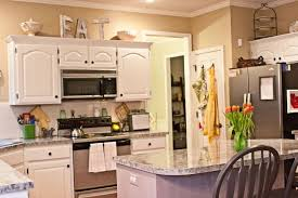 Decorating Above Kitchen Cabinets Sensational Design 18 Fine Decorate Cabinet Update