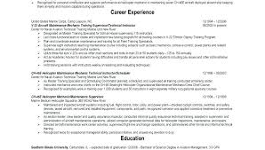 Military Pilot Resume Airline Template Free Download Air Force Sample