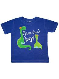 INKtastic - Grandmas Boy Grandson Dinosaur Gift Toddler T ...