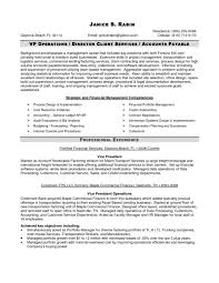 Finance Manager Resume Template Best Of Director Profile Format For Fina Large Size