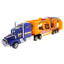 100 Semi Truck Toy KidPlay Products Deluxe Friction Car Carrier With