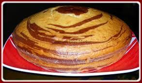 recette dessert avec yaourt gâteau marbré au yaourt couzina diel