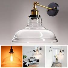 vintage industrial 11 flashlight glass light wall sconce edison