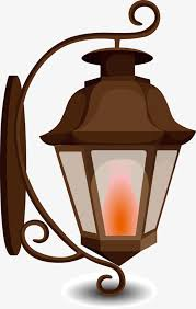 Coal Wall Lamp Vector Light PNG And