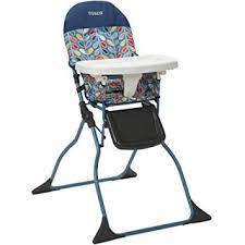 amazon com cosco simple fold high chair leafy baby