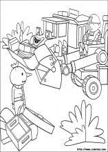 Bob The Builder Coloring Pages On Book