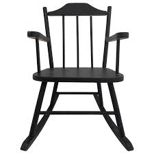 Wooden Child's Rocking Chair With Spindle Back, Painted Black Bow Back Chair Summer Studio Conant Ball Rocking Chair Juegomasdificildelmundoco Office Parts Chairs Leg Swivel Rocking High Spindle Caned Seat Grecian Scroll Arm Grpainted 19th Century 564003 American Country Pine Newel North Country 190403984mid Modern Rocker Frame Two Childrens Antique Chairs Cluding Red Painted Spindle Horseshoe Bend Amish Customizable Solid Wood Calabash Assembled