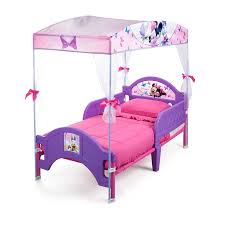 Minnie Mouse Toddler Bed With Canopy