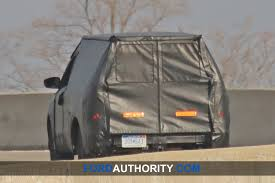 New Spy Shots Show Ford Courier Small Pickup Testing