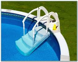 Above Ground Pool Ladder Deck Attachment by Above Ground Pool Deck Ladder Pools Home Decorating Ideas