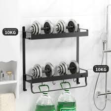duschablage wandregal badregal ohne bohren duschregal