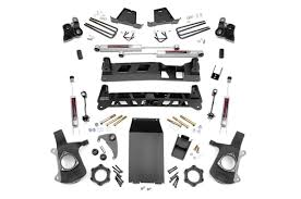 6 Inch Suspension Lift Kit For 99-06 Chevy / GMC 4wd 1500 Pickup ...