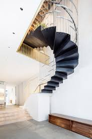 100 Loft 26 Nyc Dash Marshall Merges Two Tribeca Lofts With Sculptural Staircase
