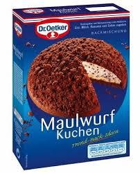 dr oetker maulwurfkuchen kuchen german bakery baking mix bake cake ebay