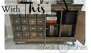 Apothecary Chest Plans Free by Turn Ikea Cubes Into A Rustic Apothecary Chest Lifehacker Australia