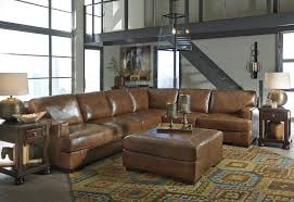 e see this nutmeg colored sectional on our show floor this