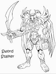 Yugioh 32 Coloring Pages
