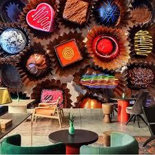 papel de parede süßwaren schokolade lebensmittel tapete café esszimmer wohnzimmer sofa tv wand küche tapete wandbild
