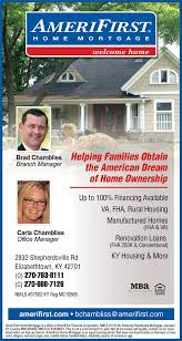 Christians In Business AmeriFirst Home Mortgage Details