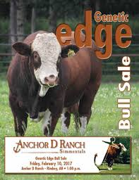 ANCHOR D RANCH 2017 GENETIC EDGE SIMMENTAL BULL SALE By The Big ... Davidson Jackpot 74z Salebook Bull Barn Saler Semen Competive Edge Genetics Abs Global Inc Bovine Reproduction Services And December 2011 Horizons By Genex Cooperative Issuu Lookout Mountain Llc Home Facebook Znt Cattle Co 2012 44 Arsenal 4w07 Kittle Farms Hart Star 35y43 For Sale 2014
